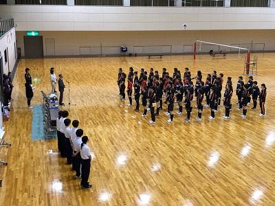 バレーボール乙訓地区大会